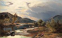 Sidney Richard Percy (British, 1821-1886) Betws-y-Coed, North Wales