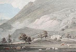 Attributed to Thomas Sunderland (British, 1744-1828) A Lake District view