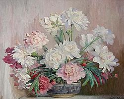 Beatrice Hagarty Robertson (Canadian, born 1879) Floral still life