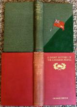 ANTIQUE (2) Book Canadian History Lot Both by George Bryce 1910 History of Hudson Bay Company & 1914 History Of Canada