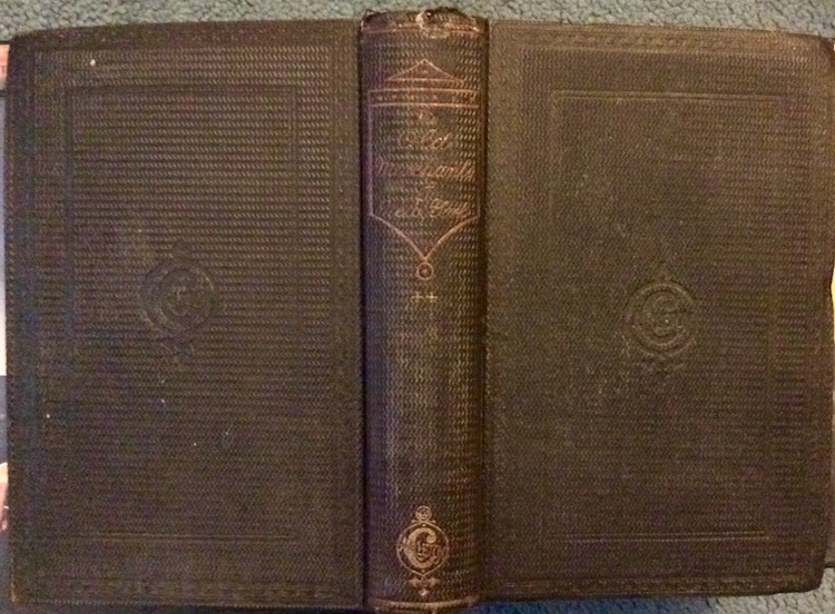 ANTIQUE 1863 HC NYC Merchant History 1st Edition