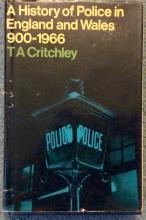 HC 1st Ed History of The Police In England & Wales