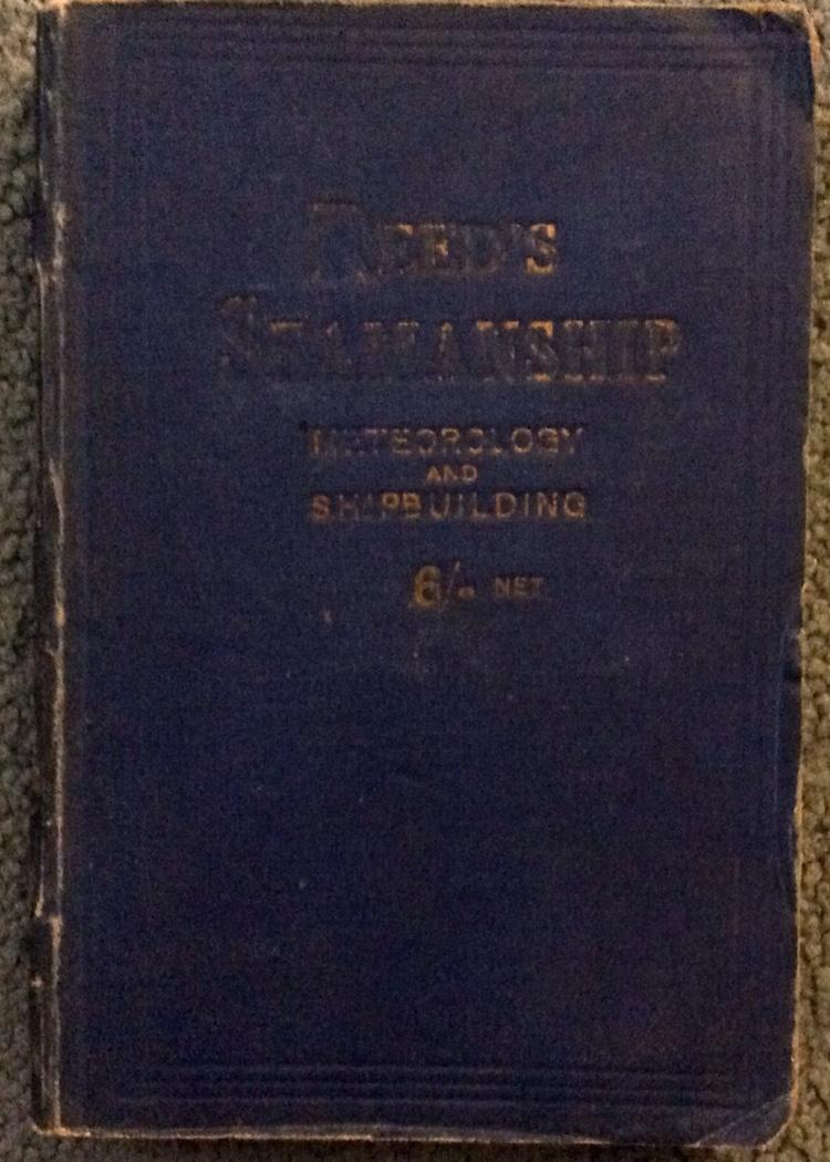 ANTIQUE 1918 Illustrated Seamanship Manuel