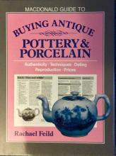 HC Reference Book On Antique Pottery & Porcelain