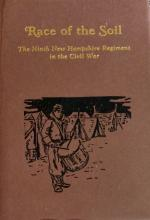 Civil War Regimental HC in DJ: Race of the Soil: 9th NH