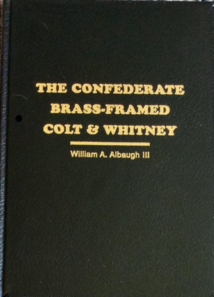 Confederate Brass-framed Colt HC Civil War Gun Reference