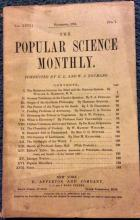1884 Popular Science Monthly US Race relations article