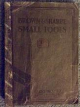 ANTIQUE 1926 Browne & Sharpe Hand-Tool Trade Catalog