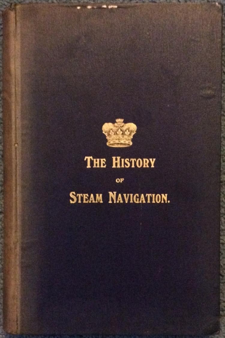 ANTIQUE 1905 HC Illustrated Naval Steamship History