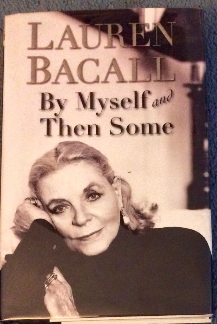 Collectible Laurel Bacall SIGNED Autobiography HC W/ DJ