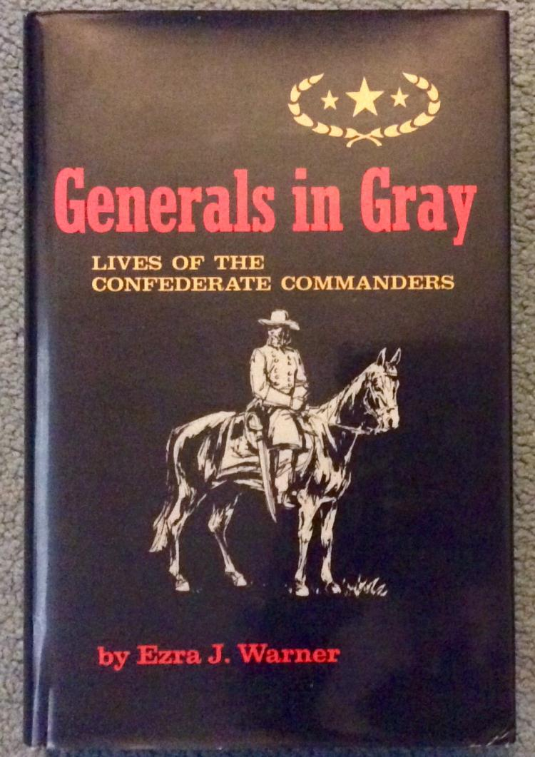Confederate Millitary Reference Generals In Gray
