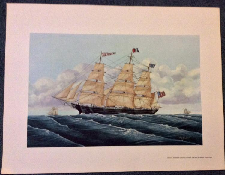 Robert R. Newell Marine Ship Print