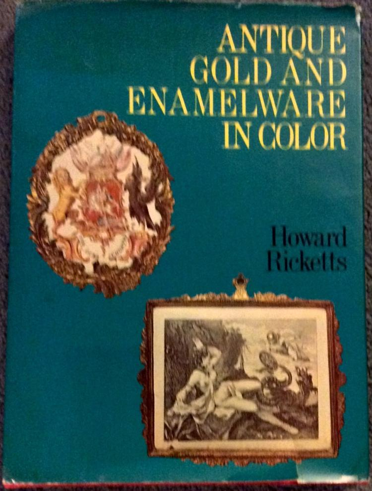 Antique Gold & Enamelware HC Antique Reference Book