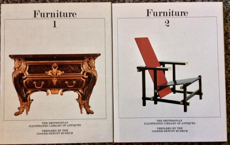 (2) Volume HC Reference Book Set On Antique Furniture