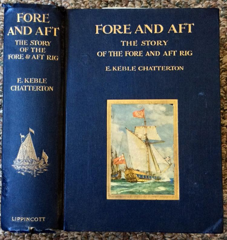 Antique Nautical History Reference HC 1st Ed. 1st Printing