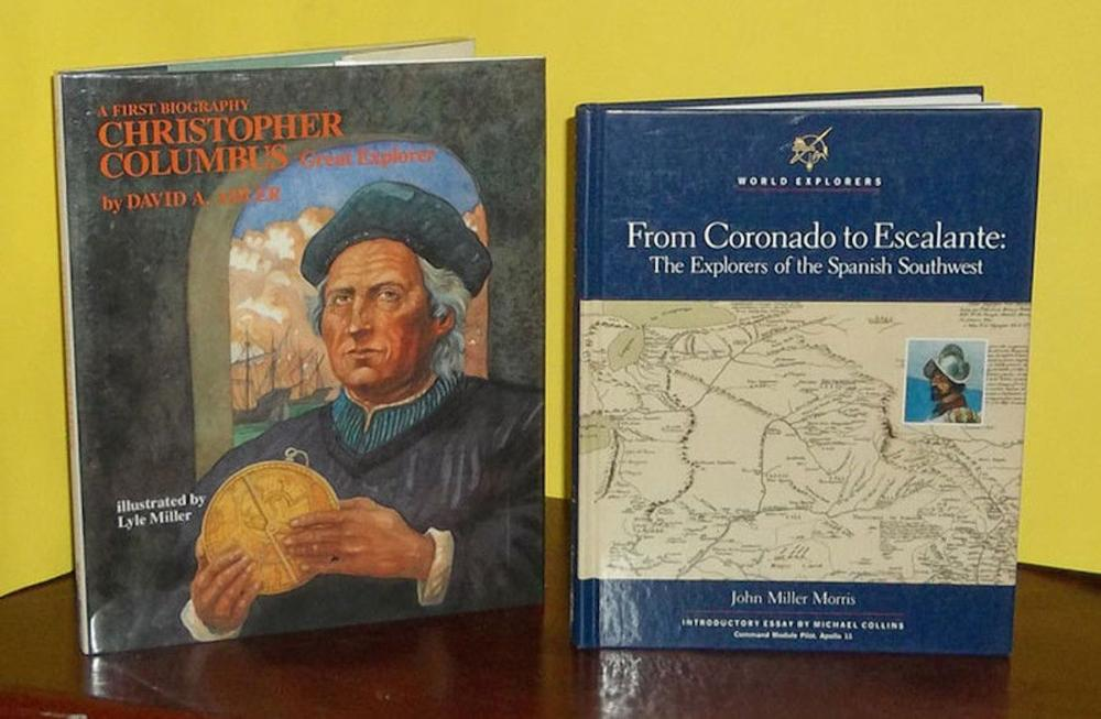 (2) Children's History Books on the Discovery & Exploration of America