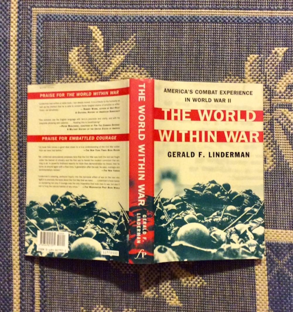 """The World Within War"" by Gerald Linderman Collectible 1997 WWI Military History Hardcover In DJ"