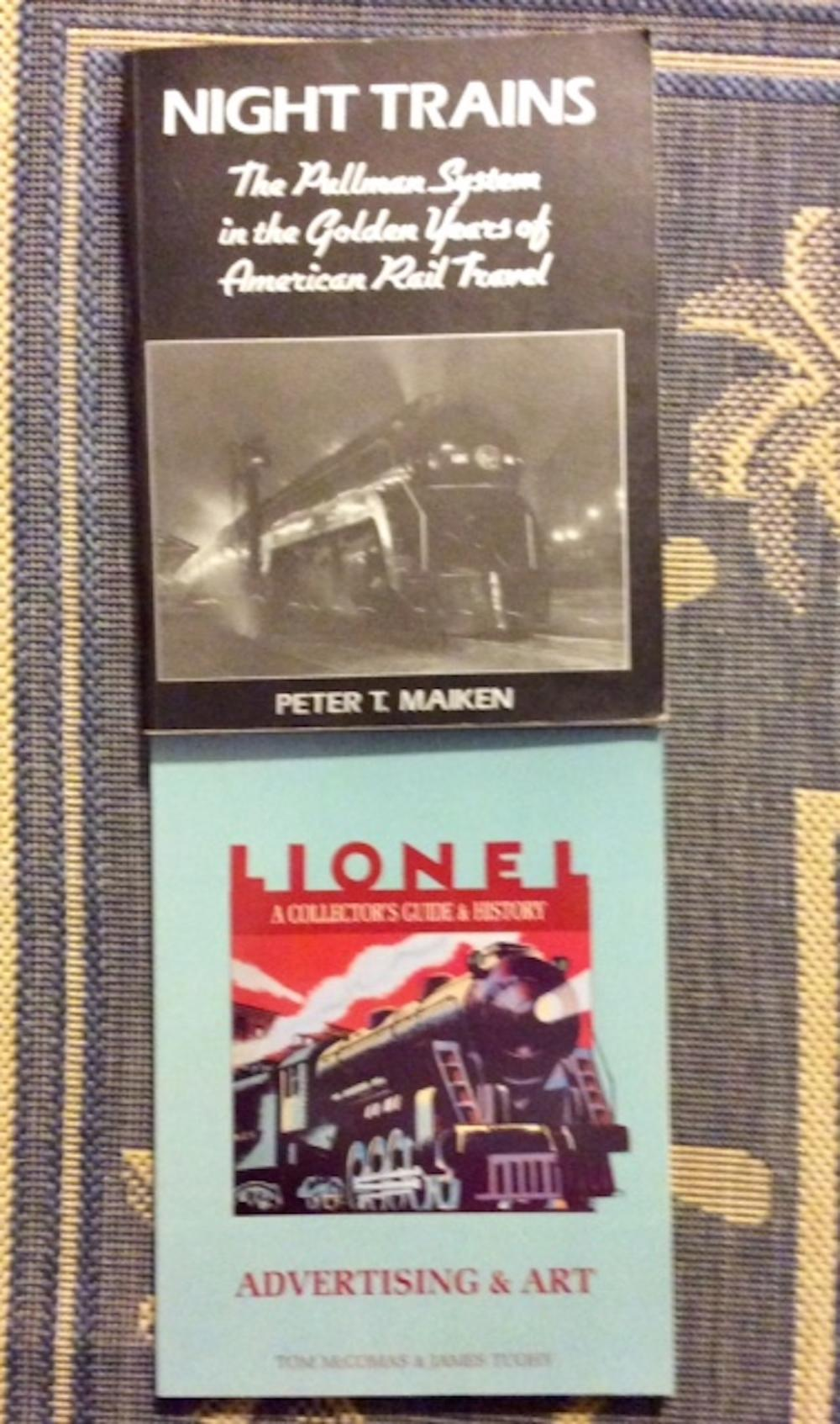 (2) Collectible Trade Paperbacks On Trains, Railroads, & Transportation