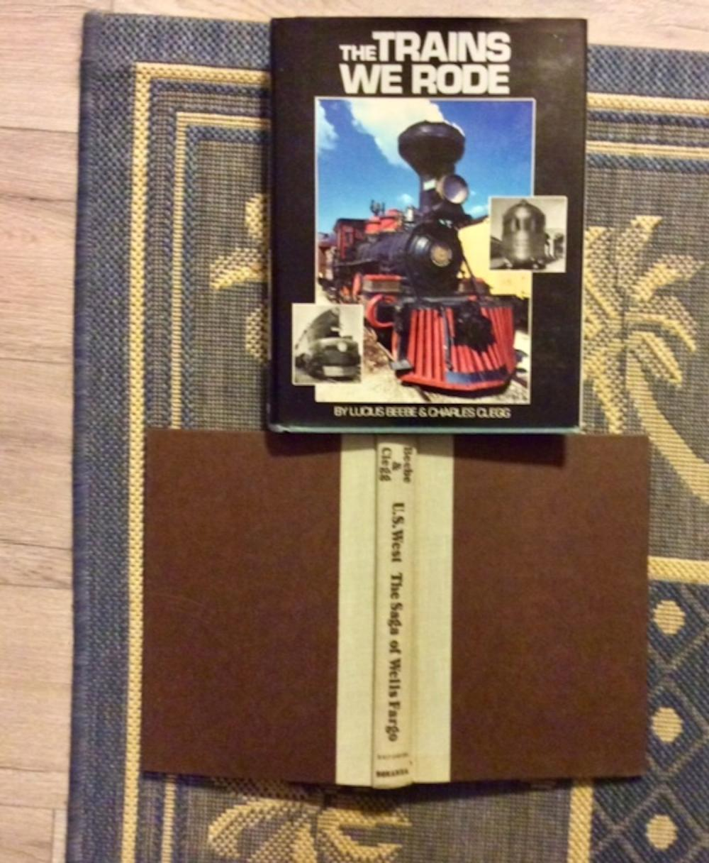 (2) Collectible Hardcovers On Trains, Railroads, & Transportation