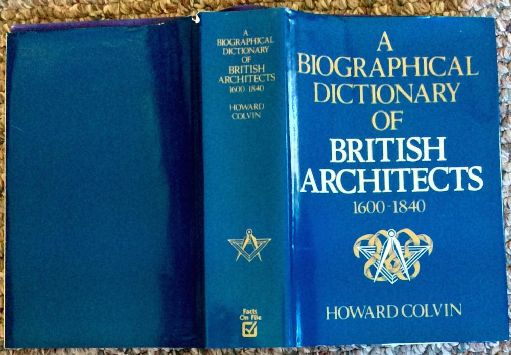 """A Biographical Dictionary of British Architects, 1600-1840"" by Howard Colvin Definitive Architectural Reference Hardcover"