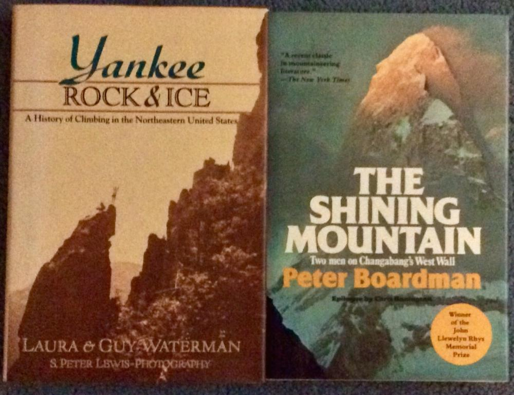 Lot of (2) VINTAGE Mountaineering Hardcovers 1st Edition 1st Printing  In DJs
