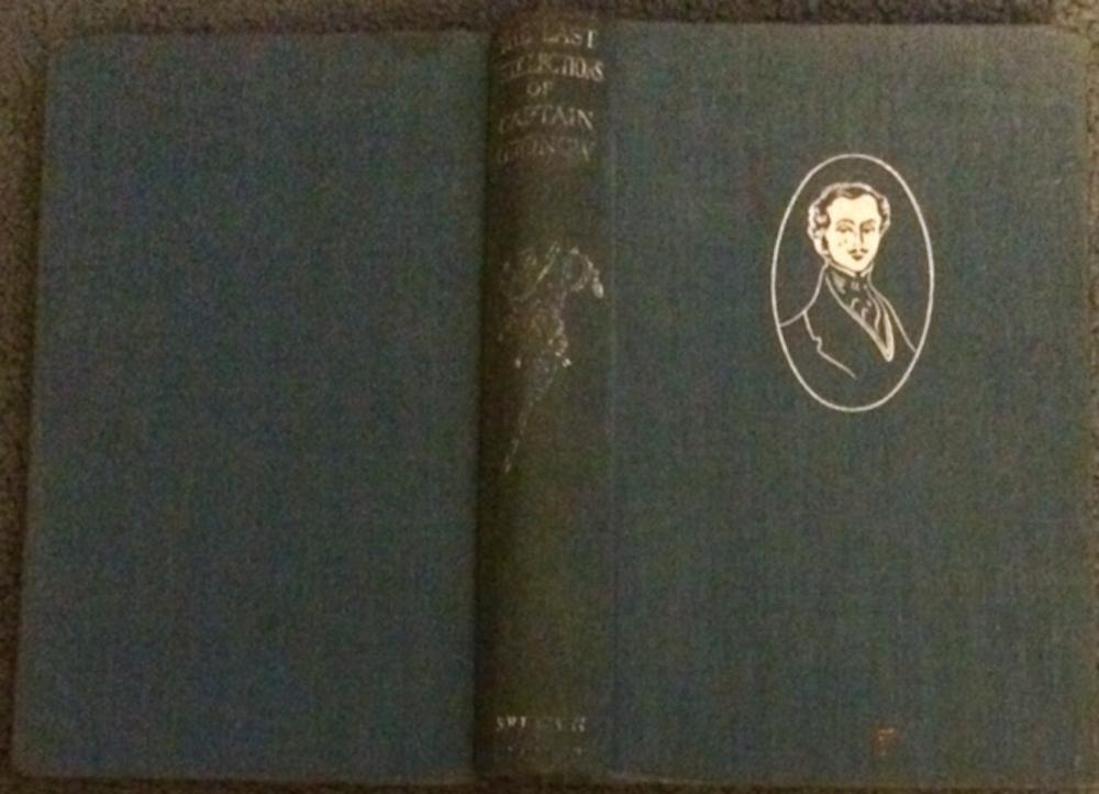 """The Last Recollections Of Captain Gronow"" by Captain Gronow ANTIQUE 1934 Hardcover Autobiography Of 19 Century English Officer"