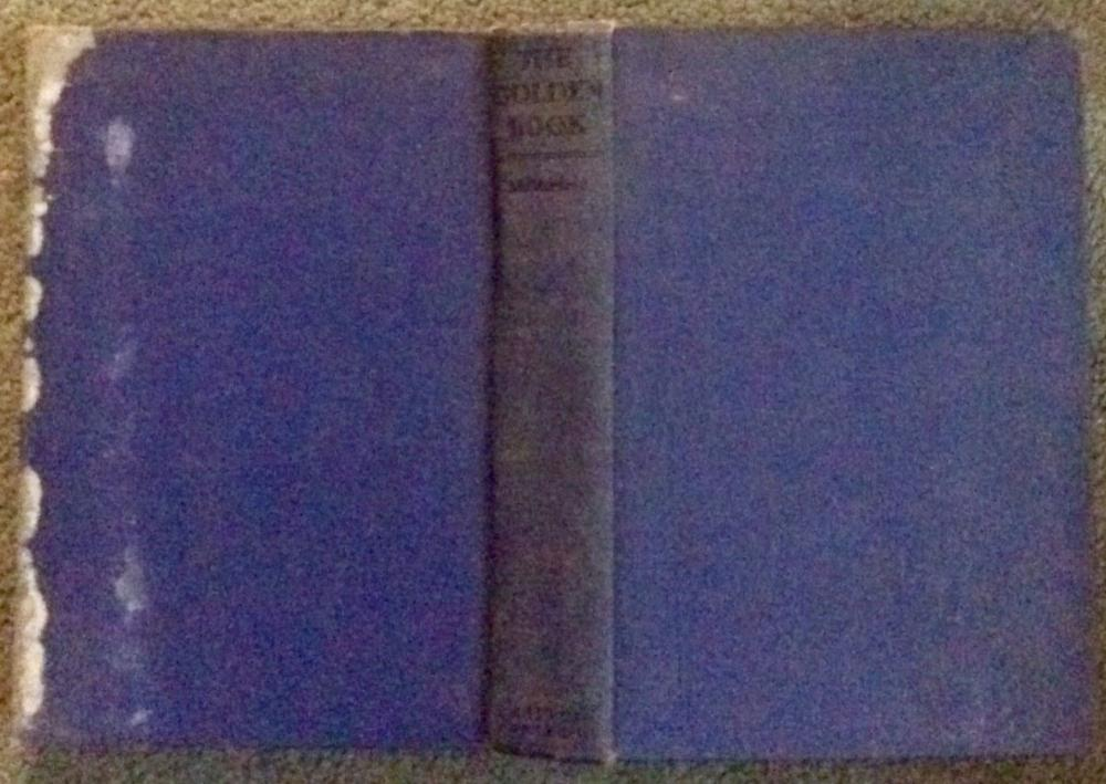 """The Golden Book"" by Douglas McMurtrie ANTIQUE 1928 Illustrated Hardcover History Of Books"