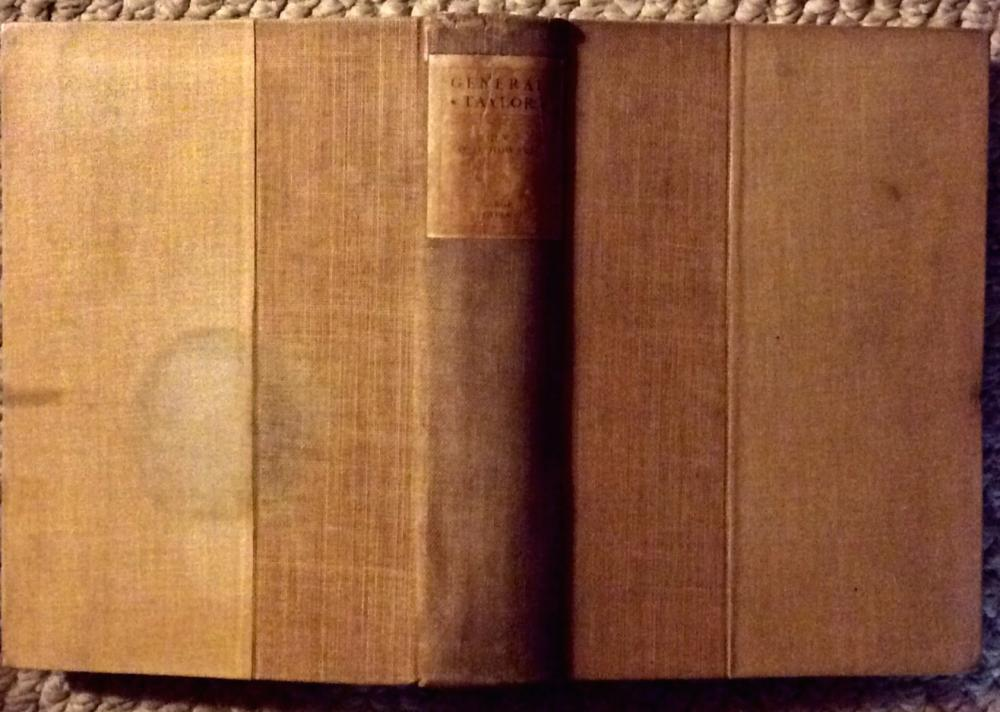 """General Taylor"" by General Oliver Otis Howard ANTIQUE 1892 Hardcover Biography Of General Zachary Taylor Limited Large Paper Edition 1st Edition 1st Printing"