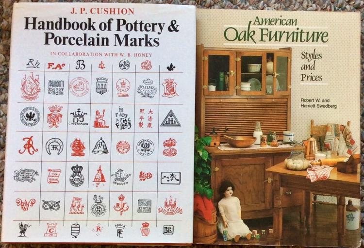 Lot Of (2) Antique Reference Books