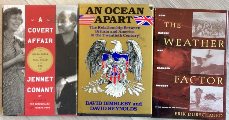 Collectible US History Collection Of (3) Hardcovers All 1st Edition 1st Printings In DJs