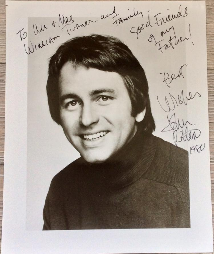 8X10 1980 Autographed Photo of Noted American Actor John Ritter