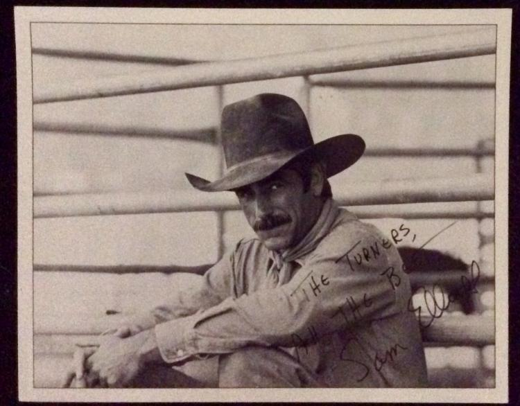 10X8 Autographed Photo of Noted American Actor Sam Elliott