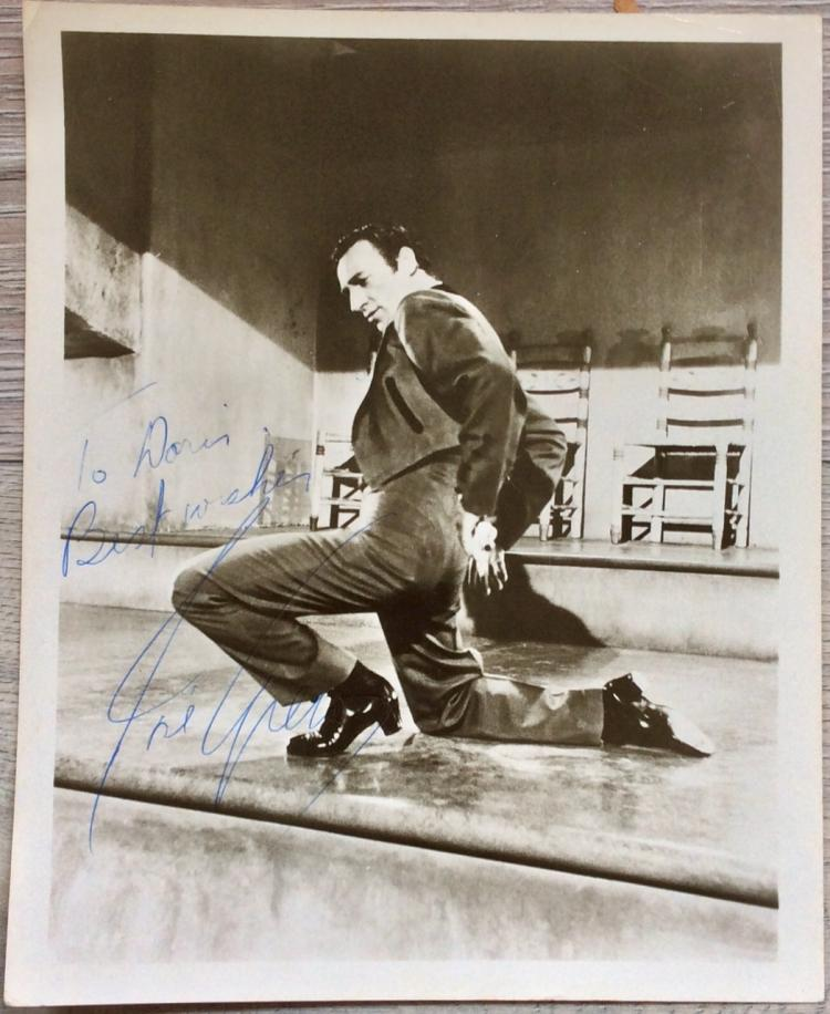 8X10 Autographed Photo of Noted American Actor Jose Greco