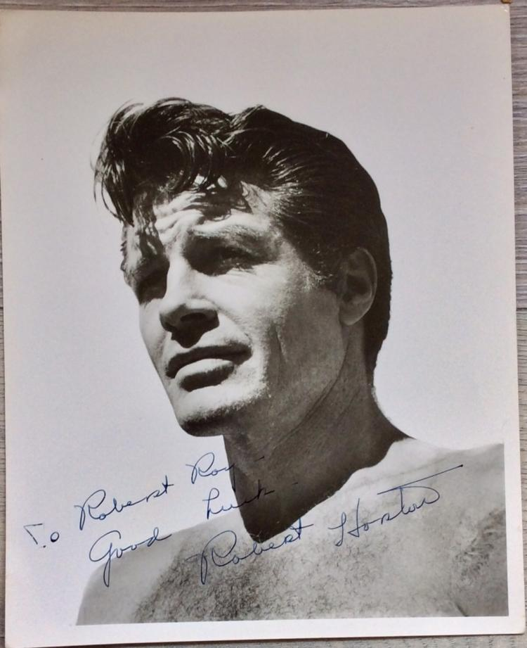 8X10 Autographed Photo of Noted American Actor Robert Horton