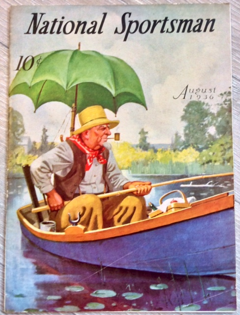 Antique August 1936 Complete Illustrated