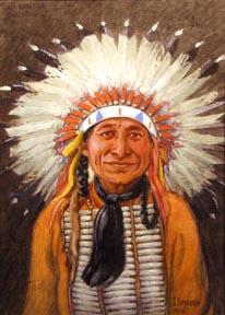 JOSEPH SCHEUERLE, (American, 1873-1948), watercolor on paper,