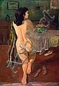 S. Sudjojono (1913-1986) Nude Oil on canvas 143 x, S. Sudjojono, Click for value