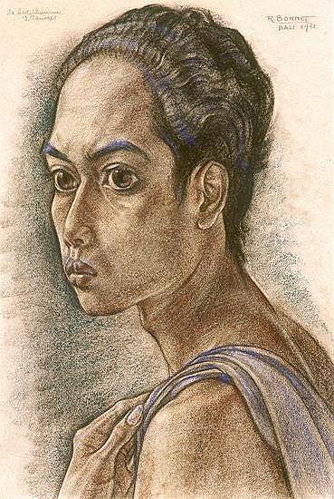 Rudolf Bonnet (1895-1978) Portrait of the Sculptor