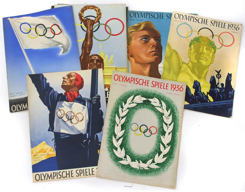 Sold Price 13 Hefte Olympische Spiele 1936 January 5 0121 10 00 Am Cet
