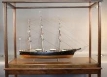 "Model of the Clipper Ship ""Flying Cloud"""