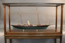 "Model of the Steam Yacht ""Corsair"" of 1890"