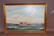 M. Friedrich yacht painting