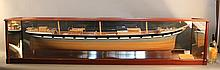 Dockyard builder's half model East Indian