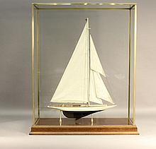 Model of the America's Cup