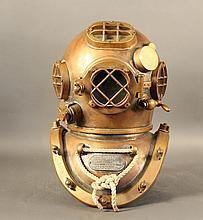 Morse US Navy diving helmet
