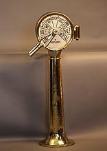 Brass engine order bridge telegraph