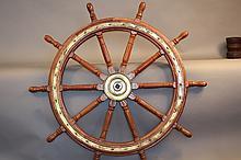 Eight spoke ship's wheel