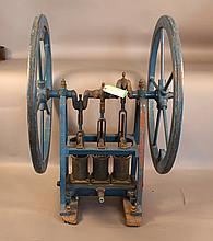 Three cylinder deep sea diving pump by Schrader