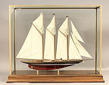 Model of the schooner Atlantic