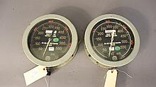 Two submarine depth gauges